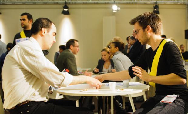 image d'un candidat et d'un recruteur à la seeph