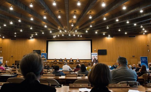 photo de la conference internationale a l unesco en 2016