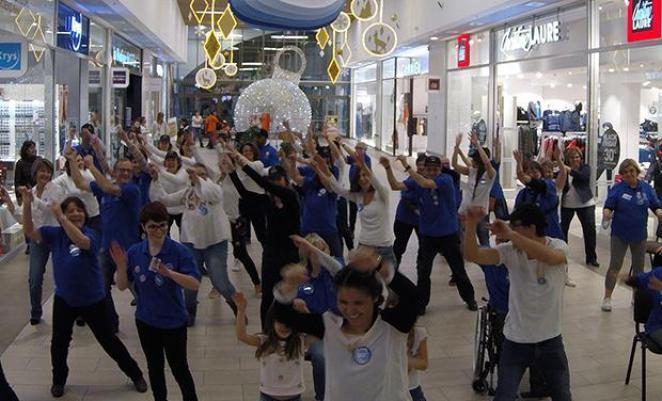 flashmob cora