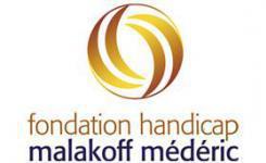 Logo fondation Malakoff Mederic Handicap